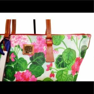 DOONEY & BOURKE Floral Tote Purse